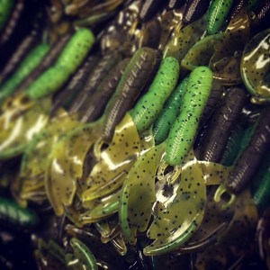 Crazy Craw - Summer Craw. Don't miss our giveaway on Facebook if you haven't seen it, today will be the last day to enter! #fishing #bruiserbaits #bassfishing
